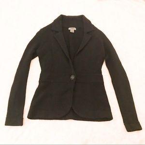 Black Cashmere Blazer XS